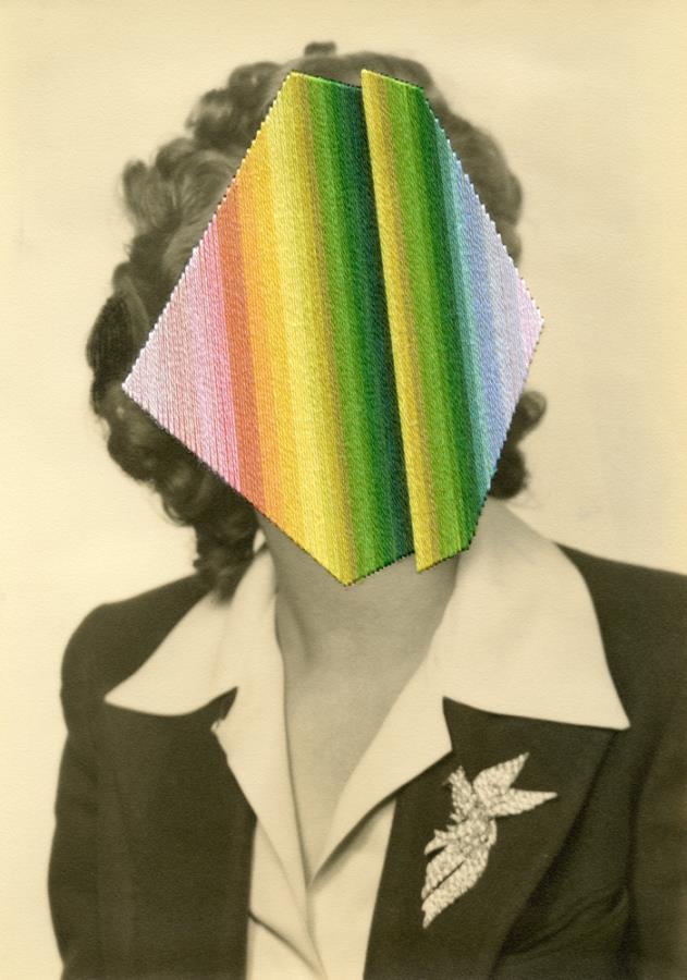 Julie Cockburn, Foldface, Flowers Gallery