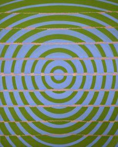 Michael Kidner, Blue, Green, Pink, Flowers Gallery