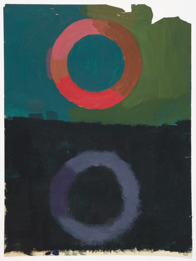 Michael Kidner, Circle After Image, Flowers Gallery