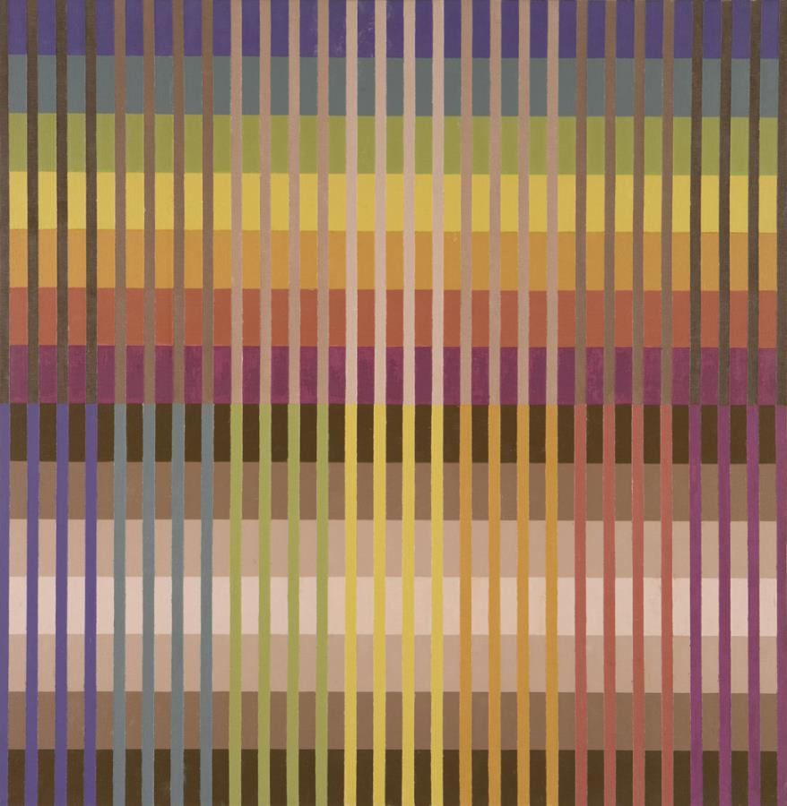 Michael Kidner, Colour Value Intensity, Flowers Gallery