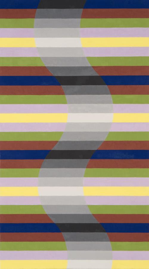 Michael Kidner, Grey Column, Flowers Gallery