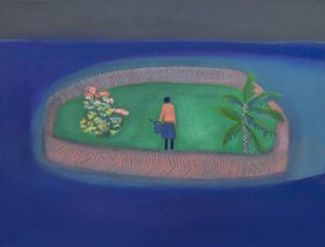 Floating Garden by Tom Hammick