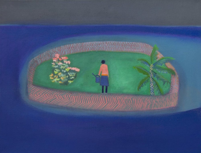 Floating Garden by Tom Hammick